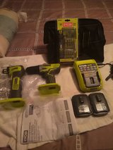 Nice set of 12v ryobi tools in Fort Campbell, Kentucky