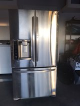 like new stainless steel refrigerator in Fort Bliss, Texas