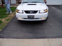 2002 White Ford Mustang GT Convertable in Tinley Park, Illinois