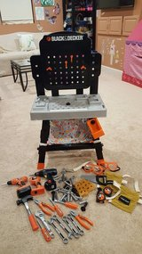 Black and Decker kids tool bench in Plainfield, Illinois