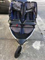 Double Bob Jogging Stroller with Extras in Okinawa, Japan