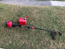 Troy Bilt Weedeater and 2 Cycle can in Okinawa, Japan