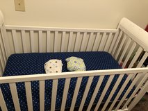 2 and 1 Crib w/ mattress and three sheets in Fort Drum, New York