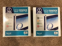 Set of 12 brand new three ring binders in Chicago, Illinois