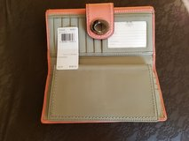 COACH - Turnkey Checkbook Wallet F43606 Coral 2 Leather in Camp Lejeune, North Carolina