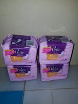 Poise pads liners bundle of 4 in Fort Benning, Georgia
