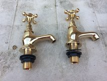 Brass Bath Taps. in Lakenheath, UK