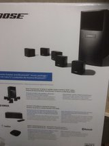 Bose speakers with receiver black in Bolingbrook, Illinois