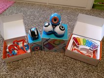 Dot and Dash coding robots in Fort Hood, Texas