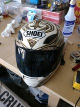 Shoei RF 1200 size XS helmet with Bluetooth system in Fort Hood, Texas