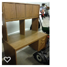 Computer desk with Hutch in Oswego, Illinois