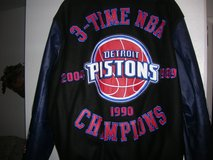 **BRAND NEW NEVER WORN NBA COLLECTORS DETROIT PISTONS JACKET** in Alamogordo, New Mexico