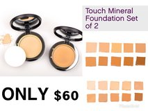 Touch mineral foundation set of 2 in Fort Polk, Louisiana