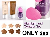Highlight and contour set in Fort Polk, Louisiana