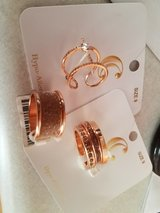 Rose gold rings size 9 in Plainfield, Illinois