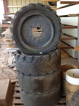 Safety Master Solid Tires 33x12-20 for skid steer or bobcat in Alamogordo, New Mexico