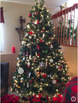Beautiful 7.5 ft Pre-Lit Christmas Tree in Tinley Park, Illinois