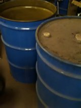 55 gal Drums/lid's in Alamogordo, New Mexico