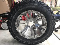 One tire & rim in Baytown, Texas