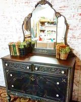 Circa 1920's farmhouse finish buffet/dresser in Aurora, Illinois