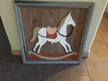 Framed Rocking Horse in El Paso, Texas