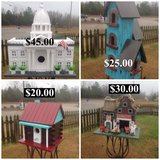 Rustic Birdhouses in Hopkinsville, Kentucky
