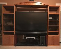 oak entertainment cabinets in Fort Campbell, Kentucky