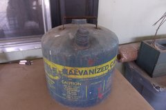 Vintage Eagle Galvanized Gas Can in Alamogordo, New Mexico