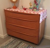 Dresser, 4 drawer, solid maple in Ramstein, Germany