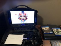 PS4  Pro w/portable TV game station, 4 games included in Tacoma, Washington