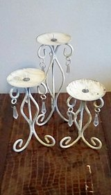 Candle stands in Fort Campbell, Kentucky