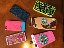 iPhone Cases for 5S or SE (Starbucks, PINK, etc) in Naperville, Illinois