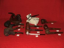 Vintage Tobacco Pipe Collection Carved Seaman Polynesian Feather Rock in Chicago, Illinois