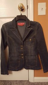 French Cuff Denim Jacket in Chicago, Illinois