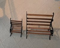18 in doll bench and chair set in Joliet, Illinois