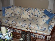Couch/Loveseat/3 tables/2 lamps in Elgin, Illinois