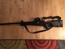 Reduced: Mauser metal bolt action air soft sniper rifle with Swiss army scope in Fort Campbell, Kentucky