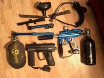 Reduced: 2 Spyder paintball guns & accessories in Fort Campbell, Kentucky