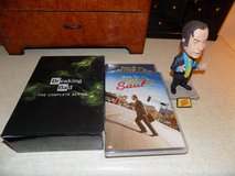 Breaking Bad Complete Series and Better Call Saul Seasons 1 @ 2 with Bobble Hhead in Yucca Valley, California