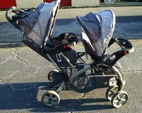 Baby Trend Double Stroller (Sit & Stand) in Fort Benning, Georgia
