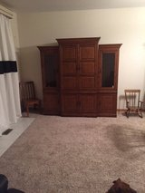 Amish Made Solid Wood Entertainment Center-Make Offer!!! in Naperville, Illinois