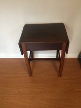 Small fold down table in Fort Campbell, Kentucky