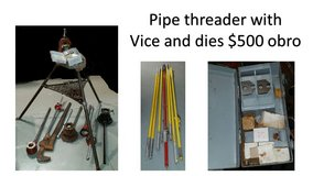 Pipe Threader with vice and dies in Macon, Georgia