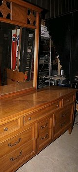 Solid Wood Dresser by Dixie Furniture (64wx19dx32t) in Byron, Georgia