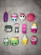 Shopkins Lot of 12 Exclusive figures from playsets, collections, shoppies dolls in Plainfield, Illinois