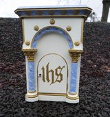 antique tabernacle made of wood in Spangdahlem, Germany