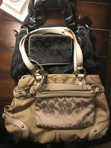 2 coach purses and two clutch/wallets in Camp Pendleton, California