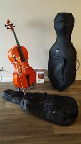 Cello 4/4 for student band in Travis AFB, California
