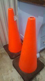 EMERGENCY ORANGE CONES in Camp Lejeune, North Carolina