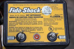 Fido-Shock Pet Deterrent Electric Fence Charger Energizer Controller in Macon, Georgia